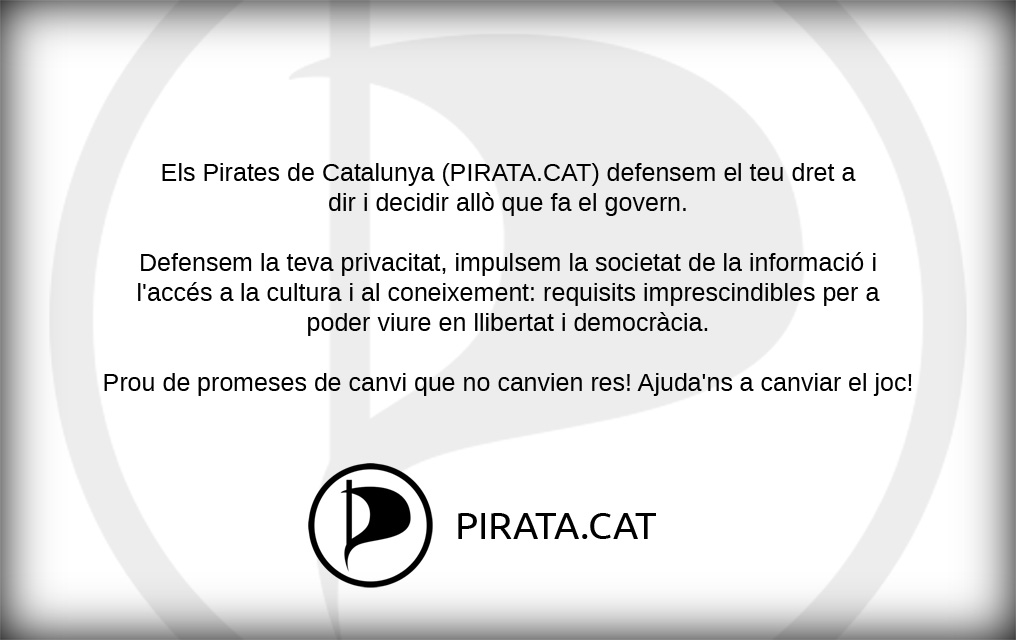 Carnet Pirata d'Or, revers